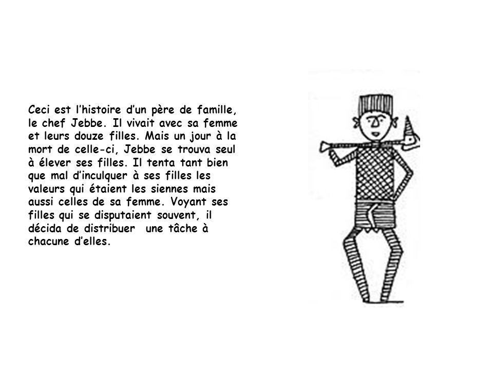 Ceci est lhistoire dun père de famille, le chef Jebbe.