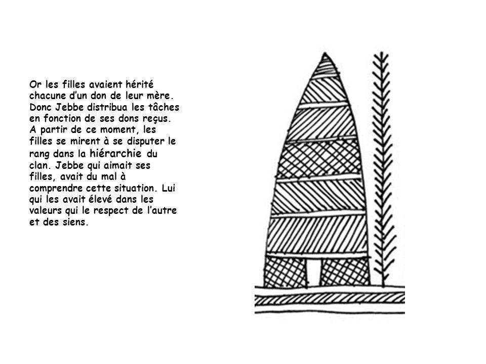 Caïssa savait cultiver un tubercule qui est le symbole même du clan.