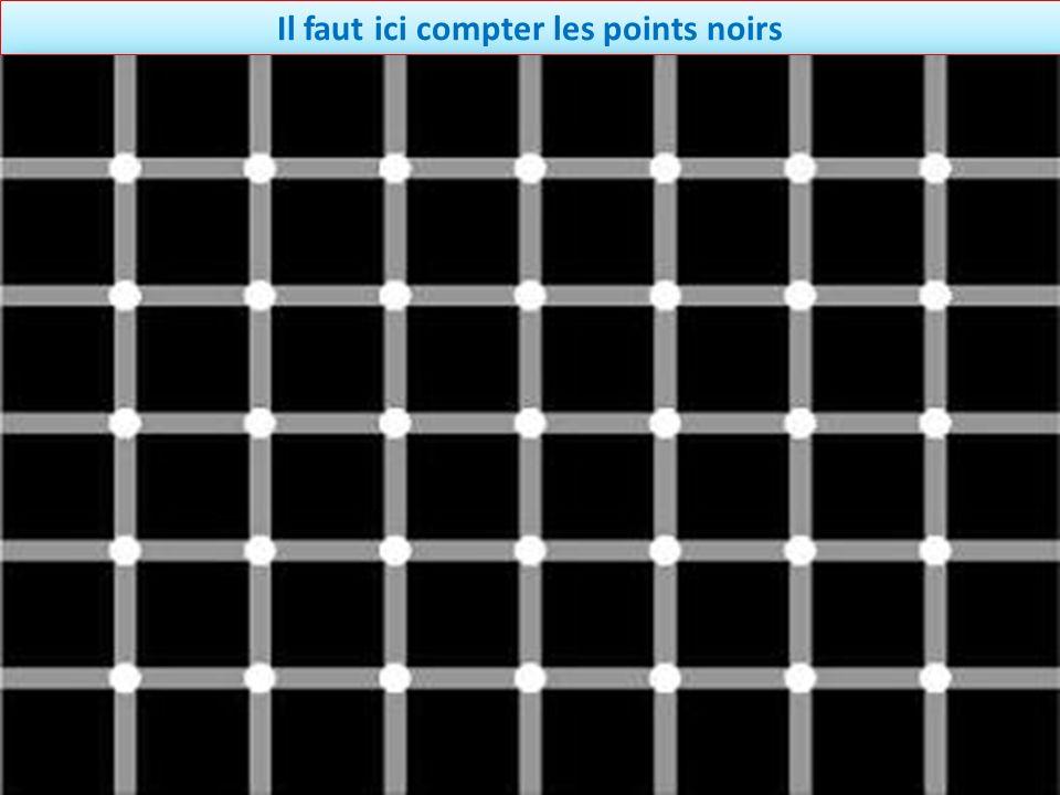 Il faut ici compter les points noirs