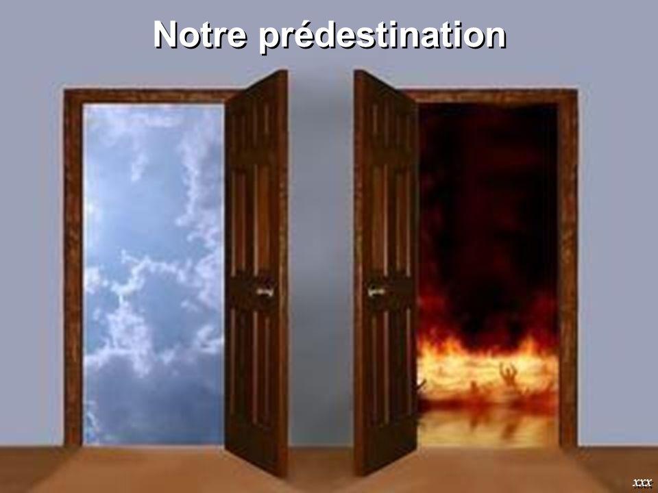 Notre prédestination xxx