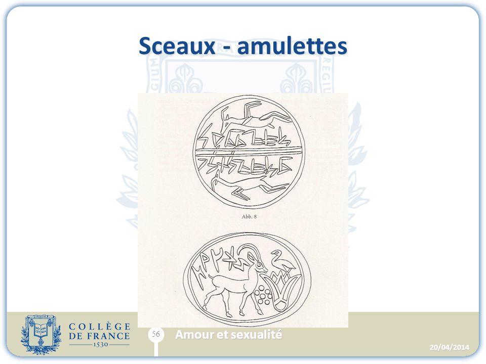 Sceaux - amulettes 20/04/2014 56 Amour et sexualité