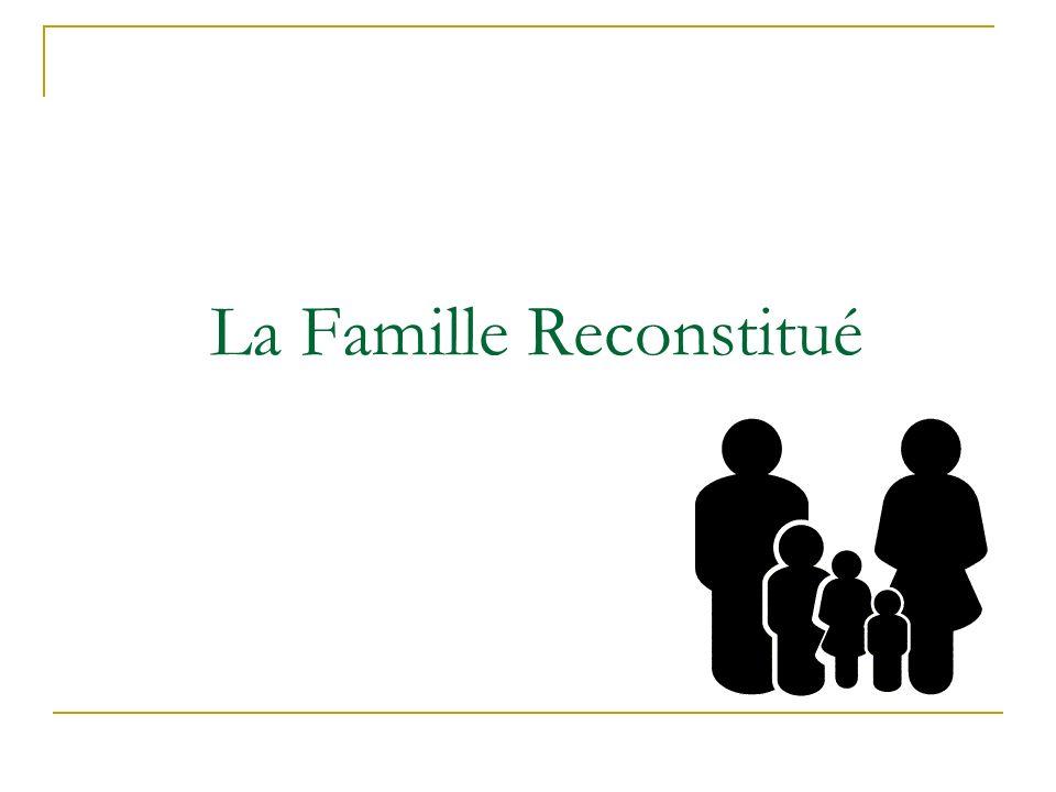 La Famille Reconstitué