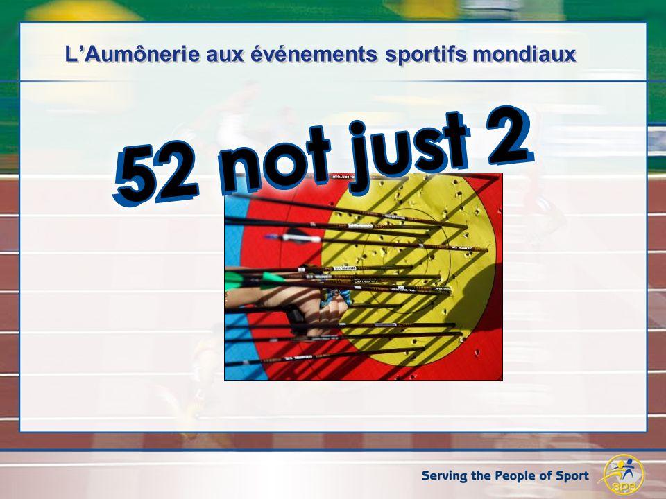 LAumônerie aux événements sportifs mondiaux