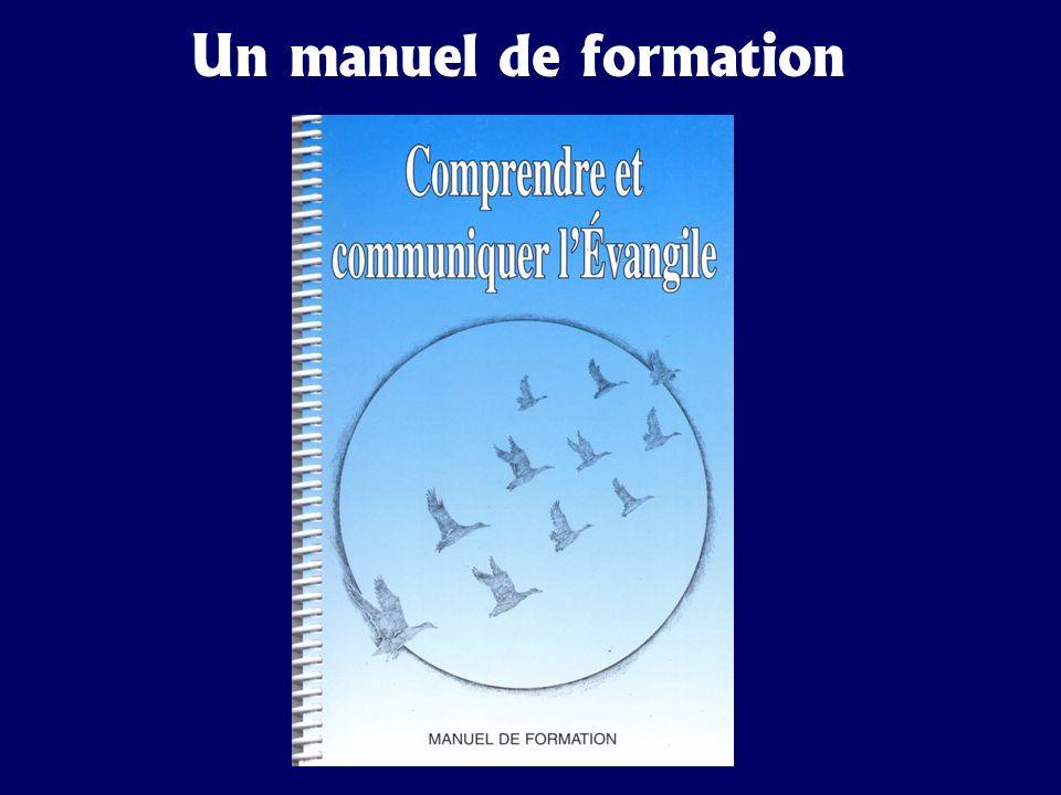 Un manuel de formation