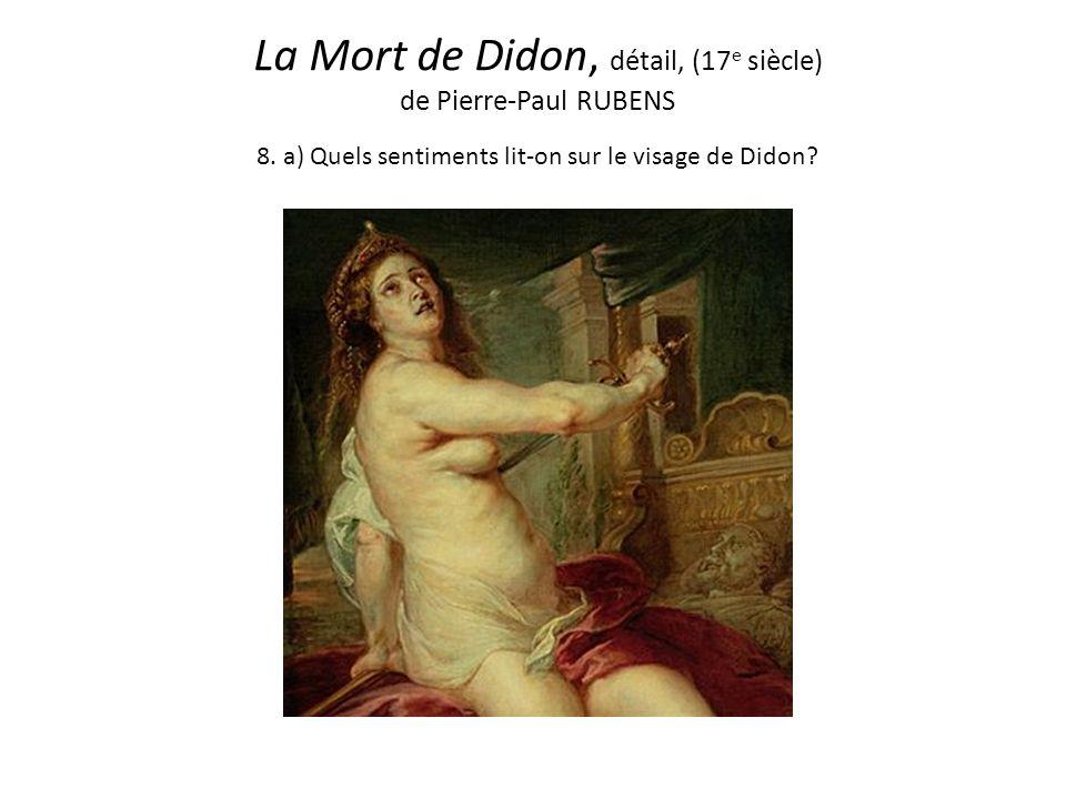 La Mort de Didon, détail, (17 e siècle) de Pierre-Paul RUBENS 8.
