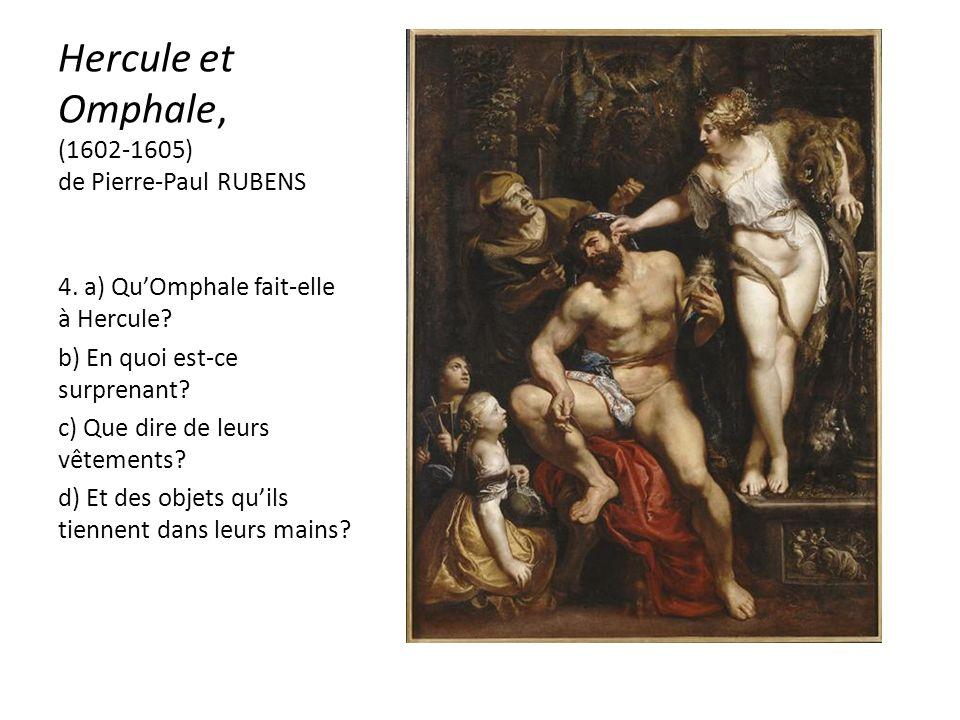 Hercule et Omphale, (1602-1605) de Pierre-Paul RUBENS 4.