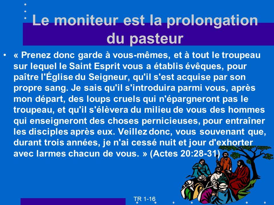 « Prenez donc garde à vous-mêmes, et à tout le troupeau sur lequel le Saint Esprit vous a établis évêques, pour paître l'Église du Seigneur, qu'il s'e