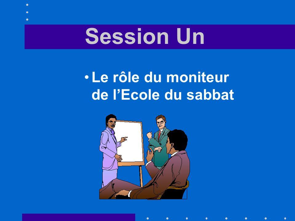 Session Deux Les qualifications du moniteur