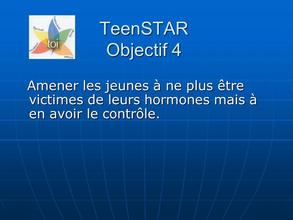 Amener les jeunes à ne plus être victimes de leurs hormones mais à en avoir le contrôle.