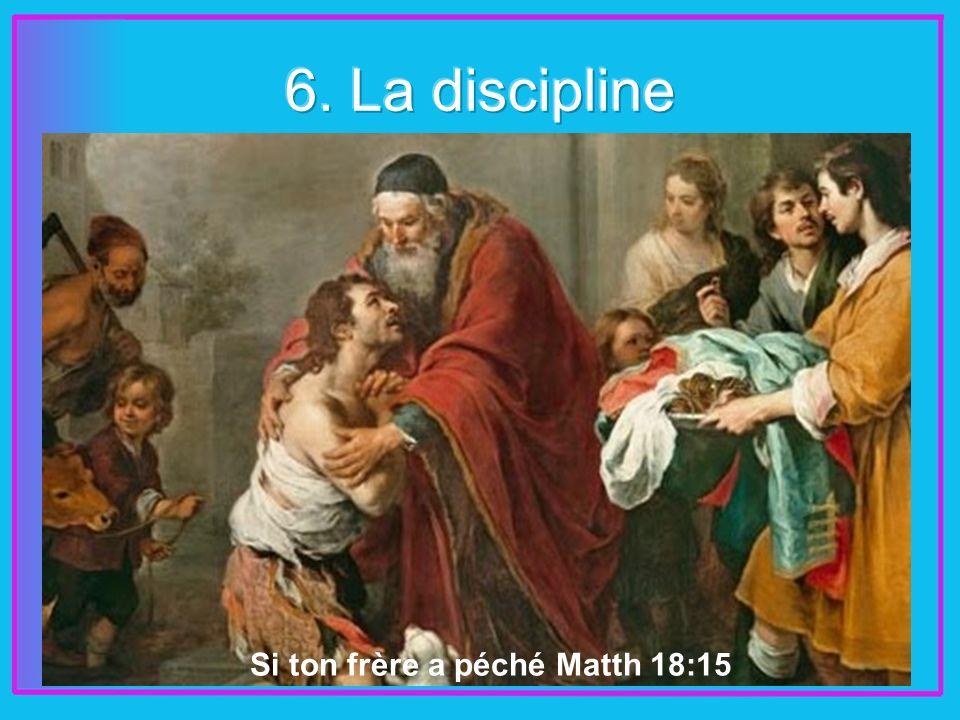 Si ton frère a péché Matth 18:15