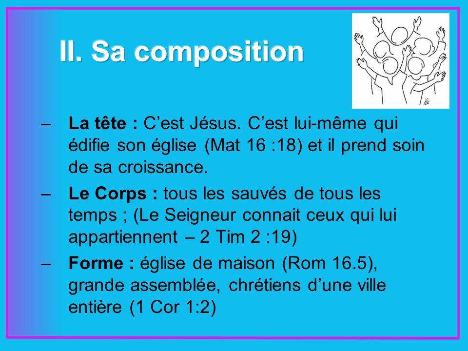 –La tête : Cest Jésus.