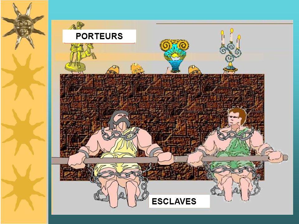ESCLAVES PORTEURS