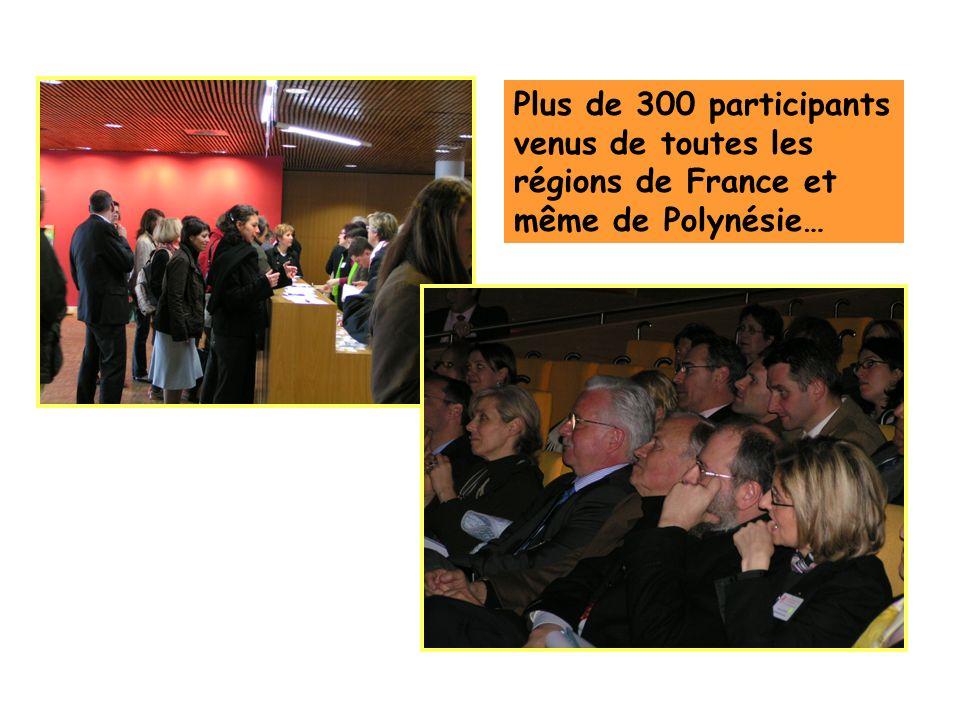 Plus de 300 participants venus de toutes les régions de France et même de Polynésie…