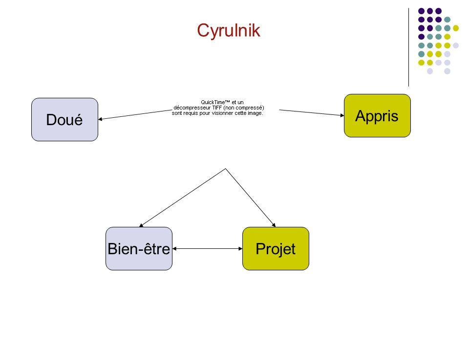 Cyrulnik Bien-êtreProjet Appris Doué