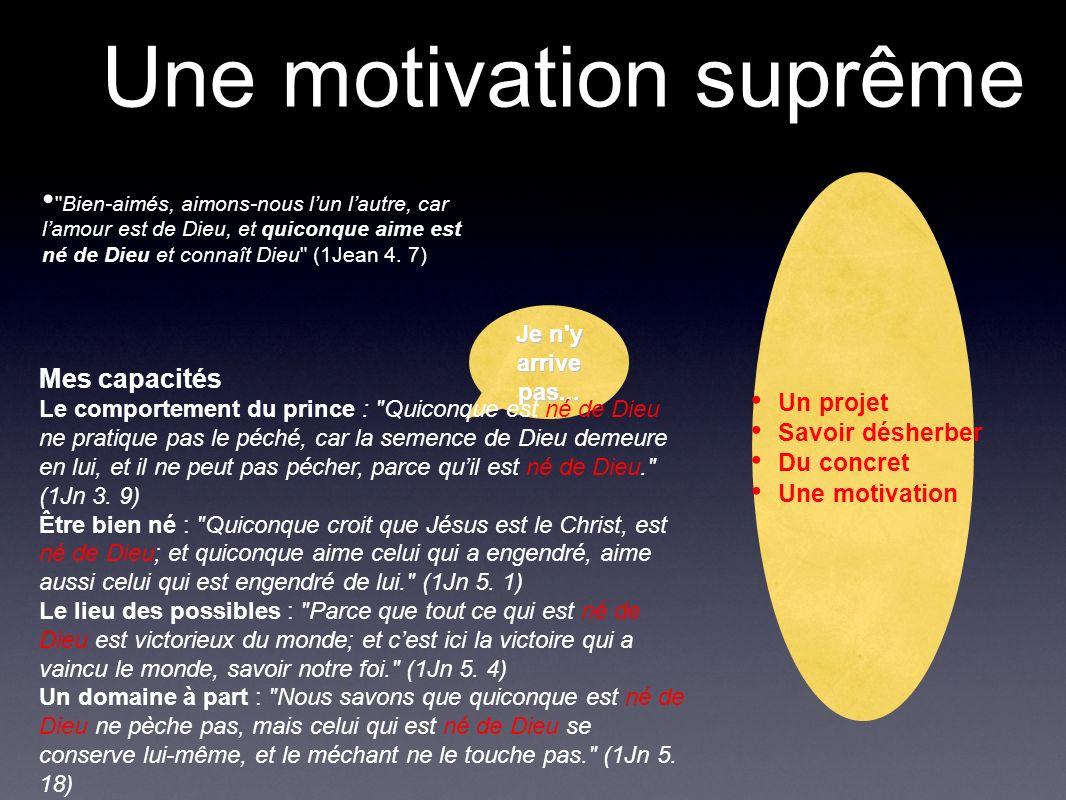 Une motivation suprême