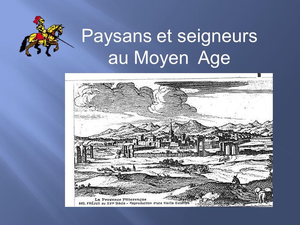 Paysans et seigneurs au Moyen Age