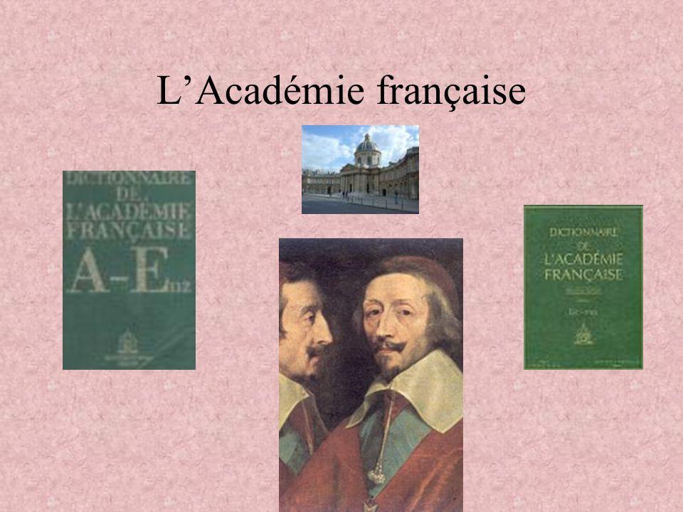 LAcadémie française