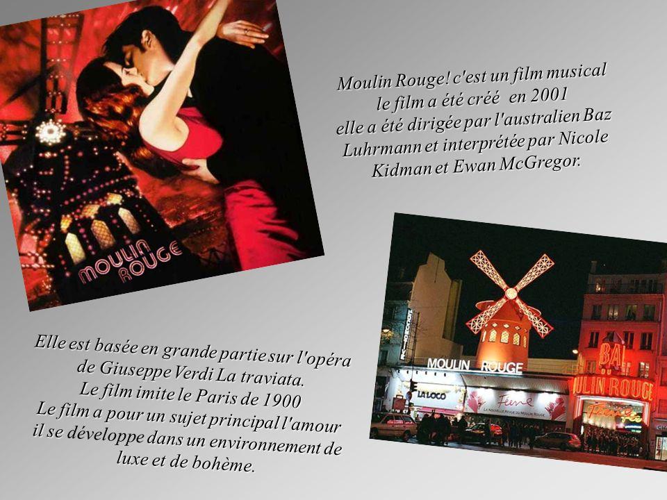 Le film est dirigé par Baz Luhrmann La musique écoutée est de Craig Armstrong Les photographies ont été réalisées par Donald McAlpine Le film a reçu oscars, des globes d or, de Prix BAFTA et Prix BAFTA