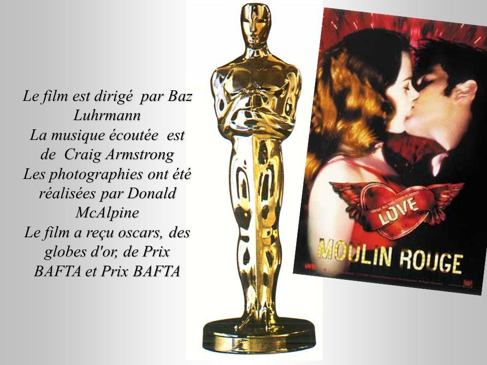Le film est dirigé par Baz Luhrmann La musique écoutée est de Craig Armstrong Les photographies ont été réalisées par Donald McAlpine Le film a reçu o