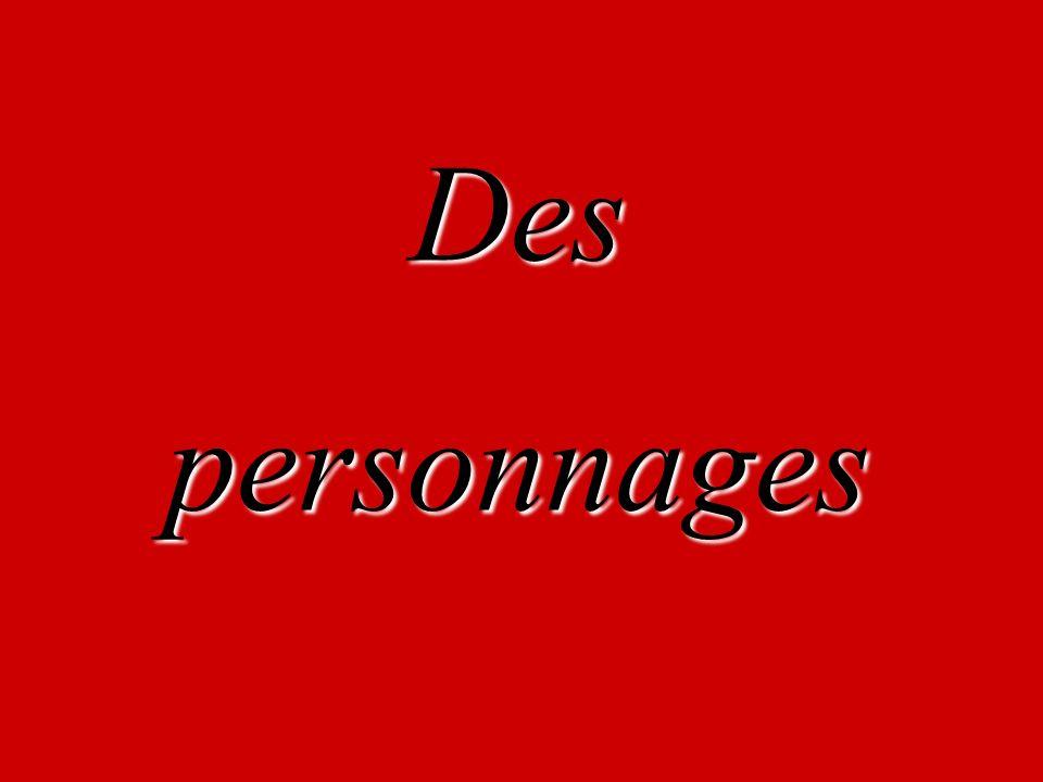 Despersonnages