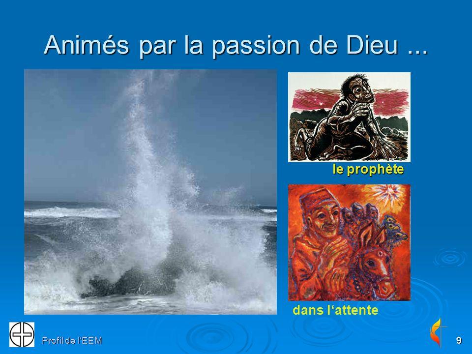 Profil de lEEM9 Animés par la passion de Dieu... le prophète le prophète dans lattente
