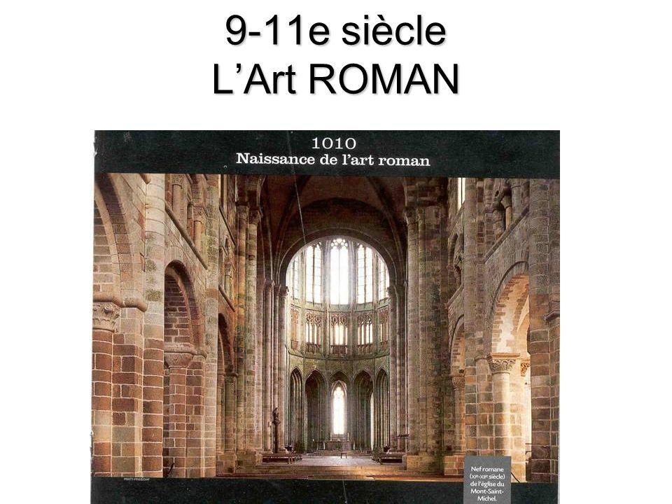 9-11e siècle LArt ROMAN
