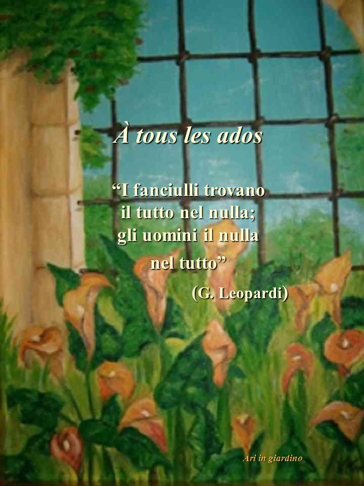 La poesia è come un fiore reciso dal giardino della sensibilità umana.