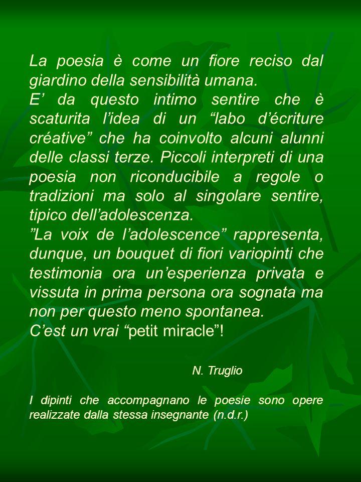 Un petit miracle Brenda Cammarano et Giulia Seveso Un petit miracle .