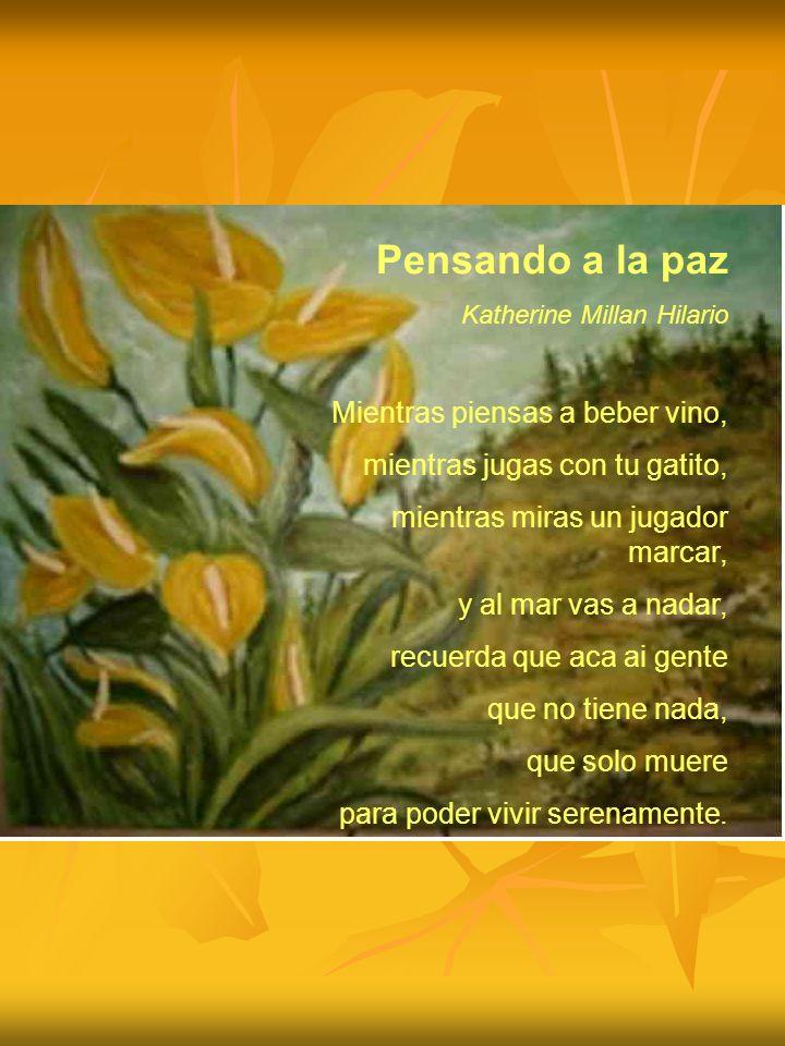 Jaime la paix Stefano Monici J aime la paix Je me suis débarrassé de la haine Je me suis débarrassé de lindifférence Et, de cette façon avec patience J attends la fraternité Je veux soutenir mon frère Je sais que la paix arrivera!