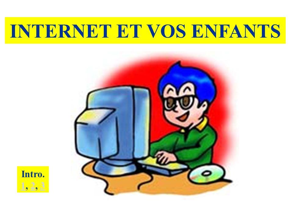 INTERNET ET VOS ENFANTS Intro. 1, 2, 3 123