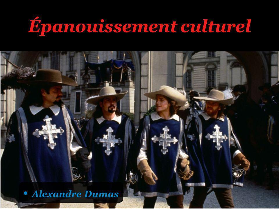 Épanouissement culturel Alexandre Dumas