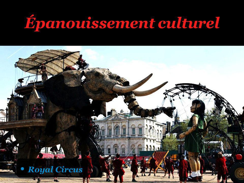 Épanouissement culturel Royal Circus