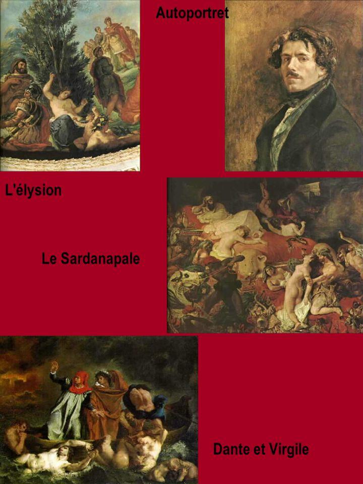 L élysion Dante et Virgile Le Sardanapale Autoportret