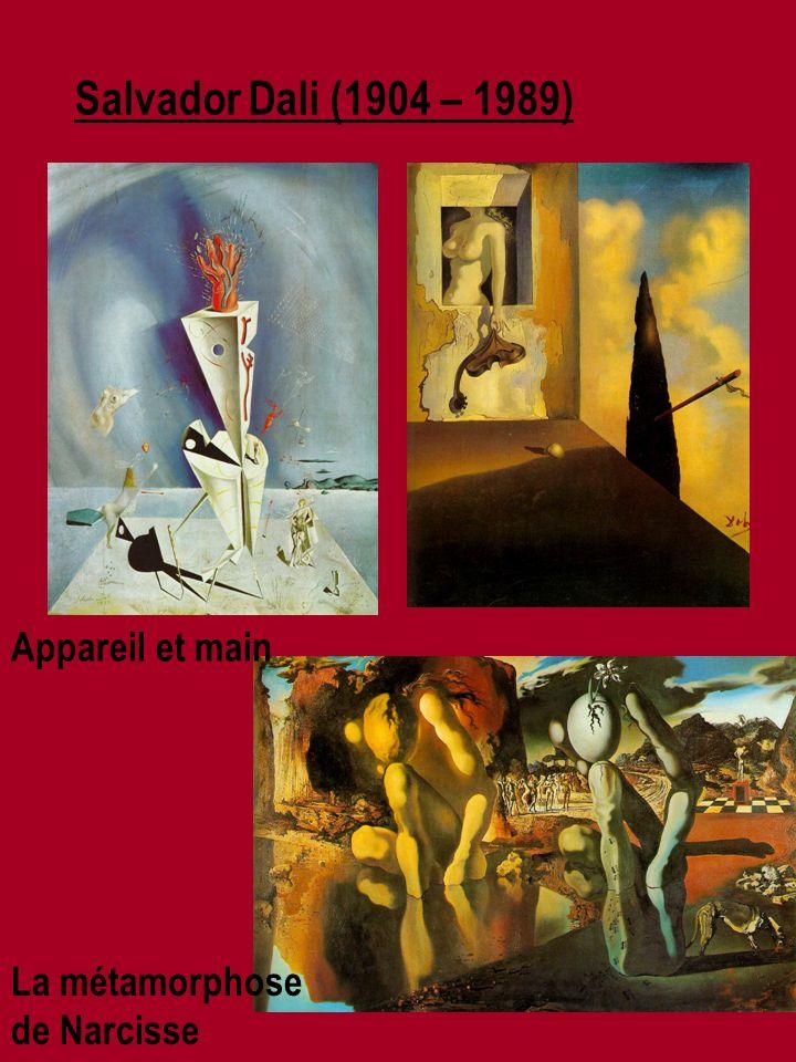Salvador Dali (1904 – 1989) La métamorphose de Narcisse Appareil et main