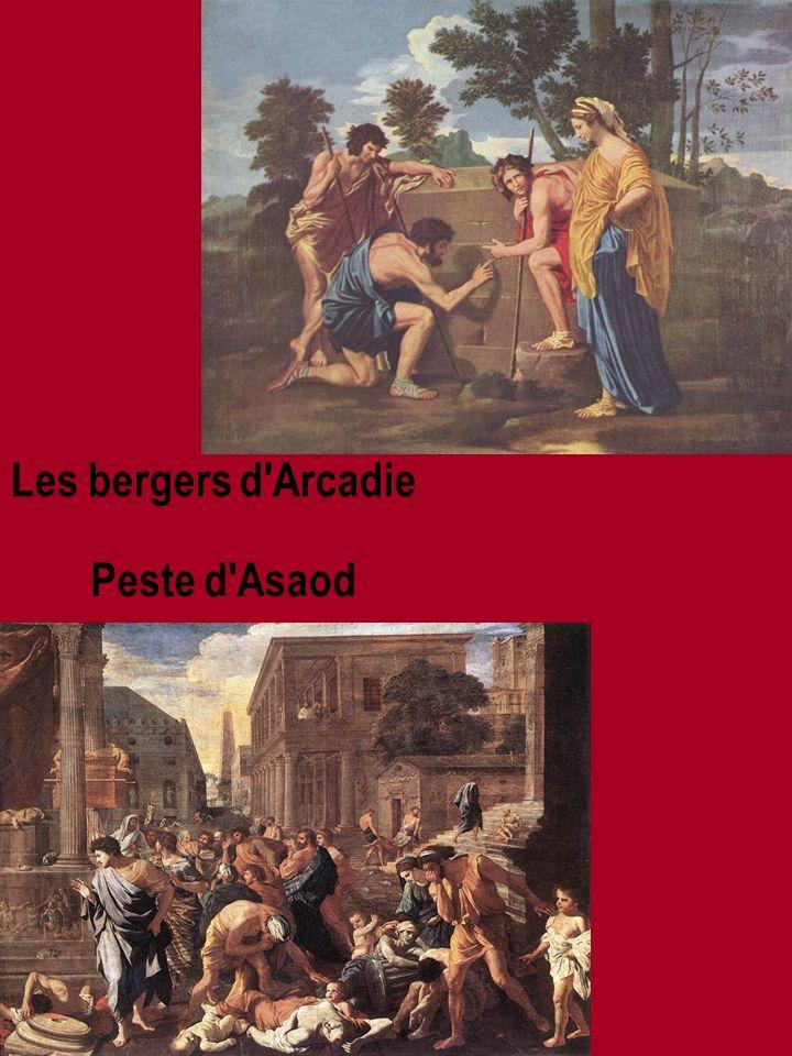 Autoportret La Triomphe de Flore Le Massacre des innoncents Midas et Bacchus