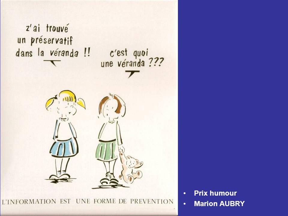 Prix humour Marion AUBRY