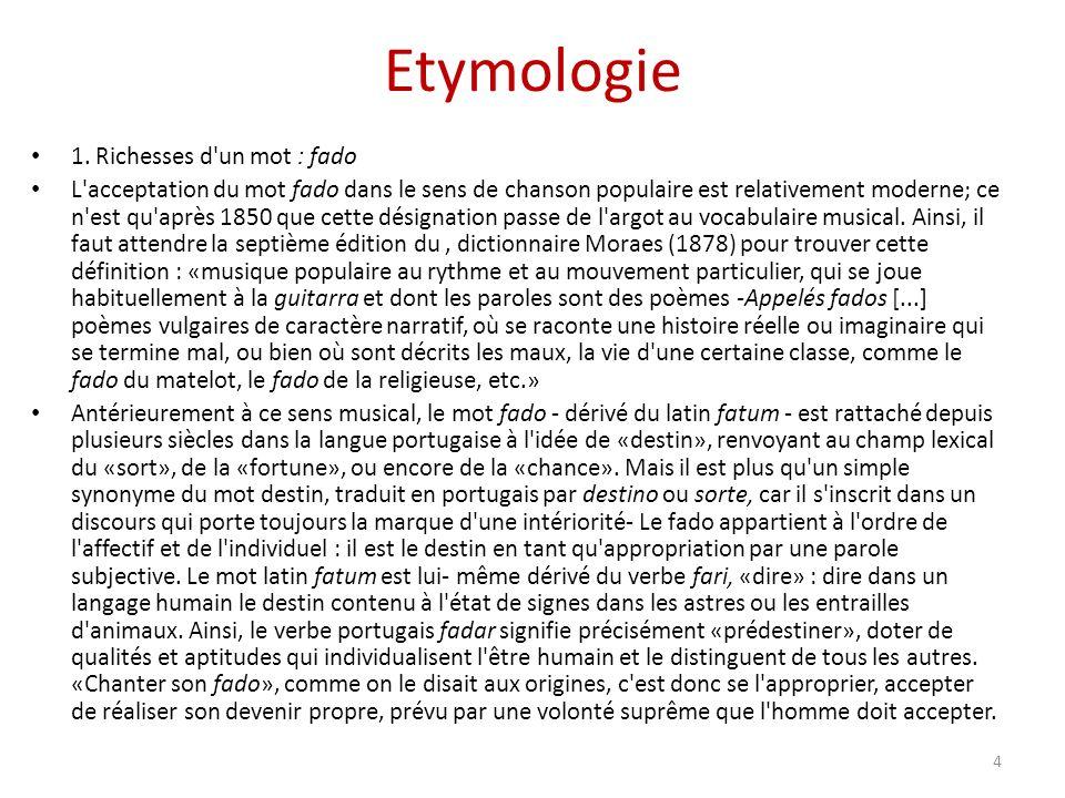 Etymologie 1.