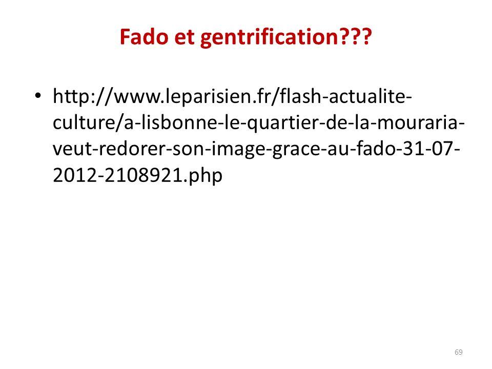 Fado et gentrification .