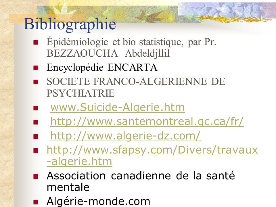 Bibliographie Épidémiologie et bio statistique, par Pr.