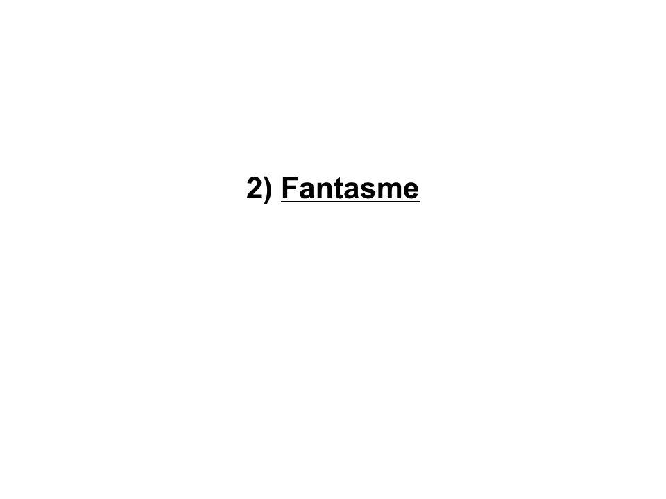 2) Fantasme