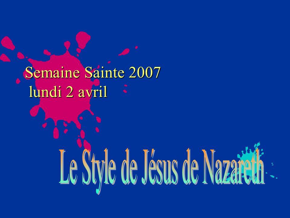 Semaine Sainte 2007 lundi 2 avril