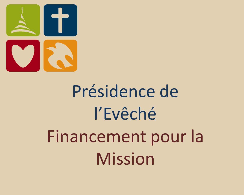 Présidence de lEvêché Financement pour la Mission