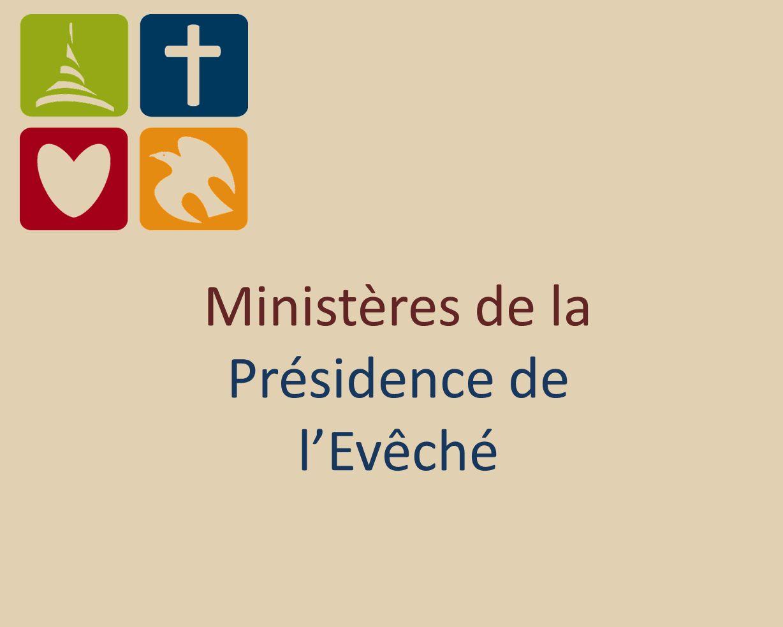 Ministères de la Présidence de lEvêché