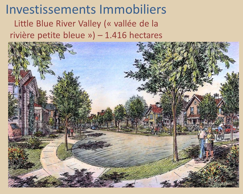 Investissements Immobiliers Little Blue River Valley (« vallée de la rivière petite bleue ») – 1.416 hectares