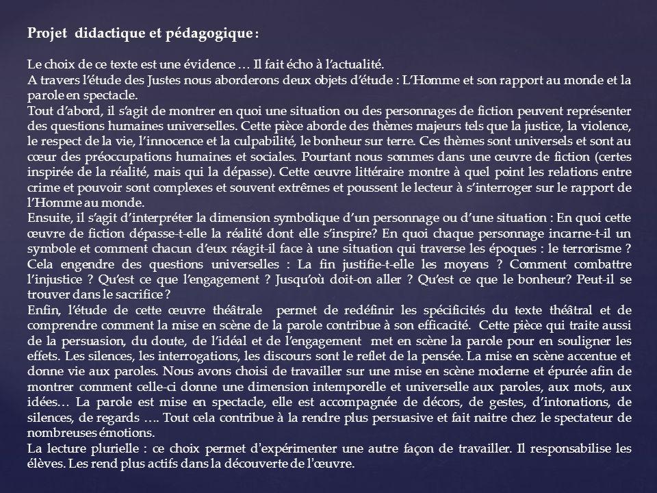 Séance de lancement Lecture du prologue.