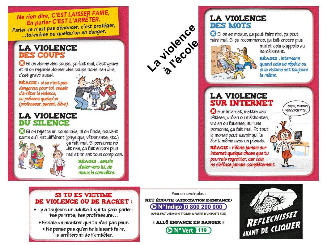 La violence à l école