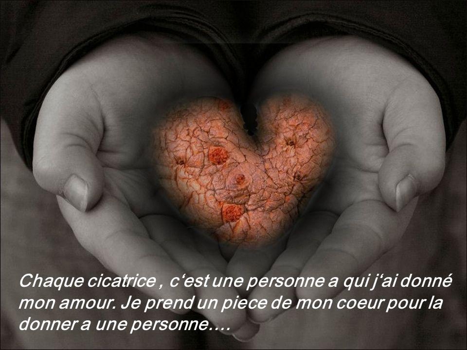 :Quoi , dit le vieil homme mais je ne voudrai pas changer mon coeur contre le tien!!!.