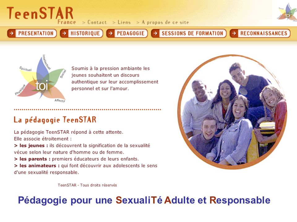 Pédagogie pour une SexualiTé Adulte et Responsable