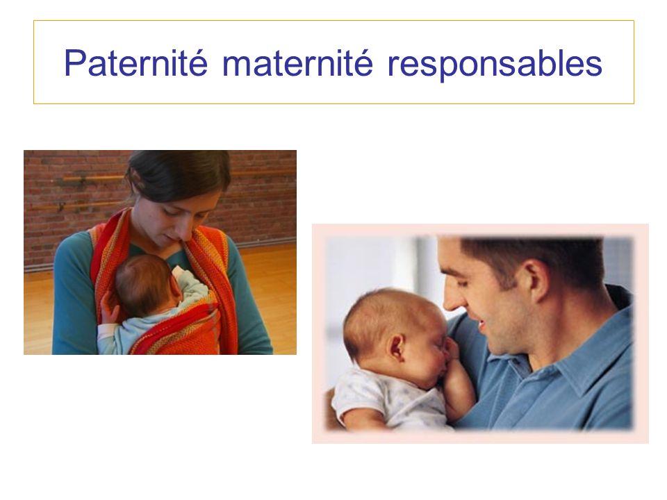 Paternité maternité responsables