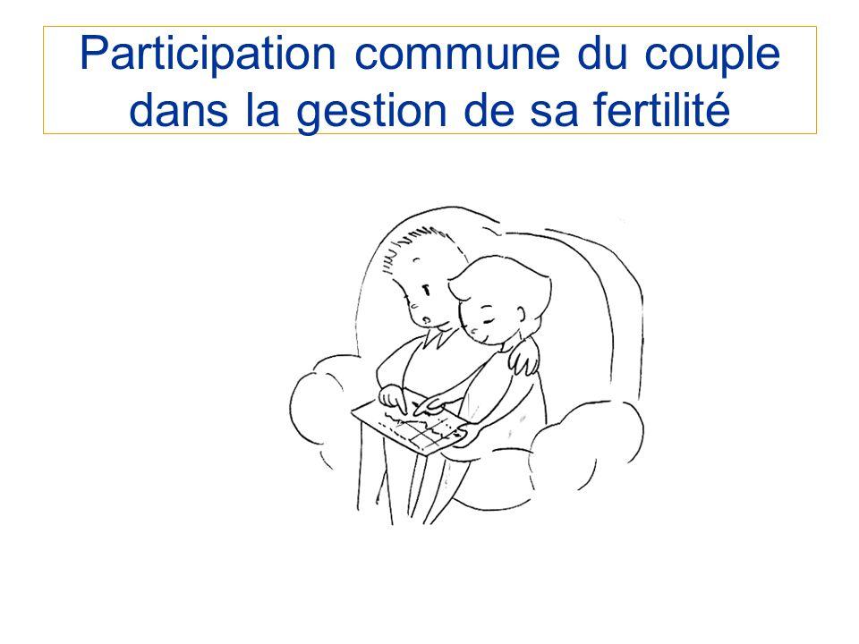 Participation commune du couple dans la gestion de sa fertilité
